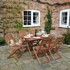 Rosmarinus 6 Seater Dining Set