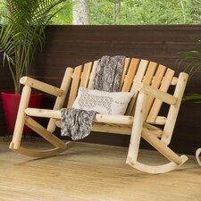 Cedar Settee Rocking Bench