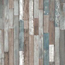 Distinctive Wood Reclaim 10m x 52cm Wallpaper Roll