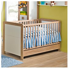 Newborn 4-In-1 Convertible Crib with Mattress by Americas Toys Project