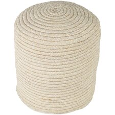 Chelmsford Pouf Ottoman by Beachcrest Home