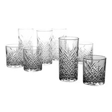 Timess 8 Piece Glass Set