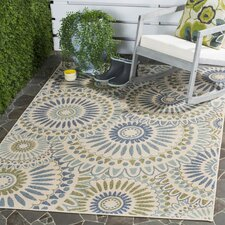 Caroline Indoor/Outdoor Rug in Green