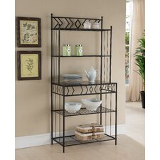 Abram Metal Storage Baker's Rack