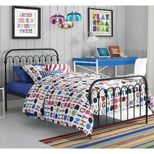 Bright pop platform bed novogratz - Bright house bedroom furniture ...