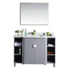 Vienna 48 Single Bathroom Vanity Set by Eviva