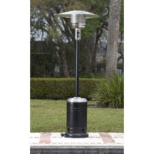 Hammer Tone & Stainless Steel Commercial 46,000 BTU Propane Patio Heater