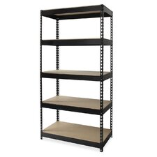 Riveted Steel 5 Compartment Shelving