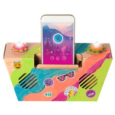 IllumiCraft Light-Up! Cell Phone Speaker Dock