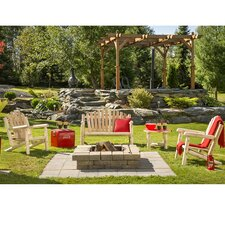 Cedar Classic 4 Piece Bench Seating Group