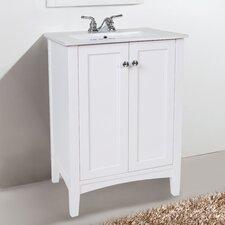 Danville 24 Single Bathroom Vanity Set by Elegant Lighting