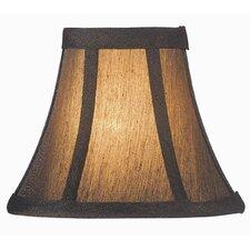 "6"" Fabric Bell Lamp Shade"