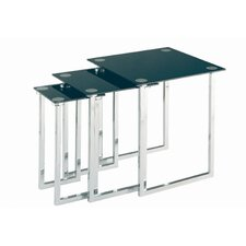 Chamaeleon 3 Piece Nesting Table by Latitude Run