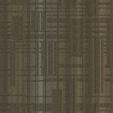 "Buildup 24"" x 24"" Carpet Tile in Brown/Beige/Gray"