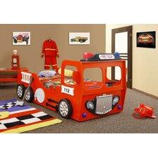 fire truck toddler car bed