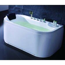 Acrylic 60 x 29.5 Freestanding Soaking Bathtub by EAGO