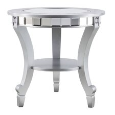 Mali Mirrored End Table by House of Hampton