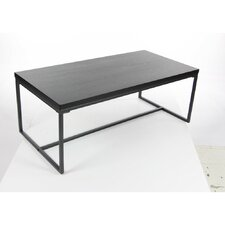 Gomes Metal Wood Coffee Table