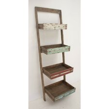 Ontario Wood 70 Leaning Bookcase by Gracie Oaks
