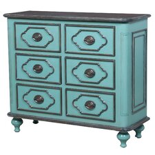 Florentina 6 Drawer Accent Chest by Bungalow Rose