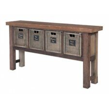 Allensby Reclaimed Wood Console Table by Loon Peak