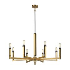 Sweetwater 8-Light Candle-Style Chandelier