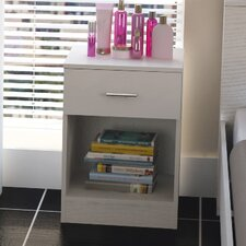 Charlie 1 Drawer Bedside Table