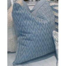 Monterey I Zig Zag Cotton Pillow Cover