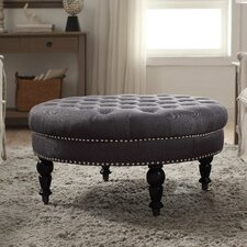 Balamine Round Tufted Ottoman by Darby Home Co®