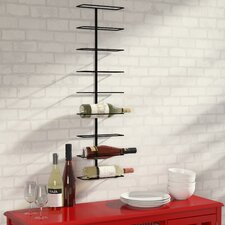 Paige 9 Bottle Wall Mounted Wine Rack
