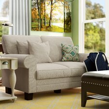 "Hereford 61"" Rolled Arm Loveseat"