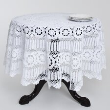 Cavaillon Crochet Lace Round Table Cloth
