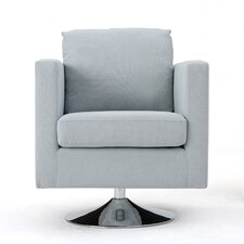 Elsmere Fabric Swivel Club Chair
