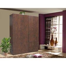 Palace Imports 100 Solid Wood Flexible Wardrobe Armoire Closet Mahogany