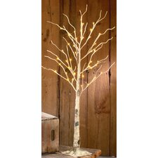 Indoor Birch LED Lighted Tree