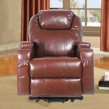 Power Heated Vibrating Massage Recliner 3 Position Lift Chair