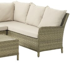 Patagonia Low Right Arm Sectional Piece with Cushions