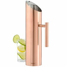 Stainless Steel with Copper Finish 60 oz. Pitcher