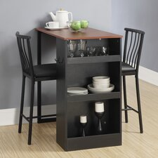 5 Piece Beveled Gl Round Counter Height Table Set Gray Target