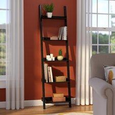 "Saniyah 67"" Leaning Bookcase"