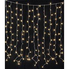 Brannigan Curtain 6 ft. Fairy String Lights
