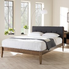 cadena king upholstered platform bed