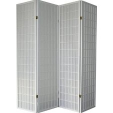 "Boddington Shoji Syle 70.5"" x 68"" 4 Panel Room Divider"