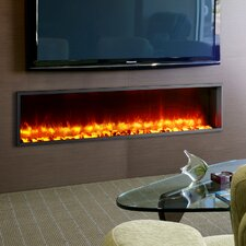 55 Built In Led Wall Mount Electric Fireplace Insert