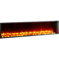 "Belden 63"" Built-in LED Wall Mount Electric Fireplace Insert"