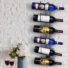 Rowan 6 Bottle Wall Mounted Wine Rack