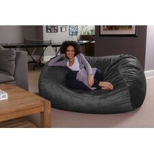Microsuede Bean Bag Lounger