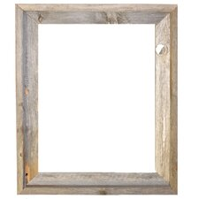 Rustic Reclaimed Barn Wood Open Picture Frame