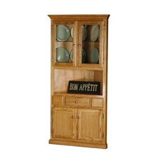 Safran Corner Dining Buffet Hutch