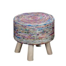 Farlend Fabric Accent Stool